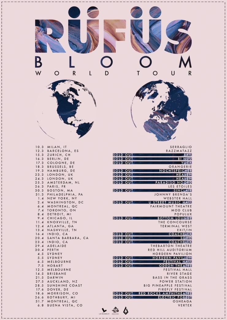 RÜFÜS - 2016 WORLD TOUR low res